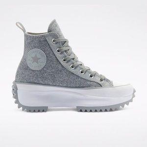 NIB Converse Run Star Hike High in Grey Ice Size 8